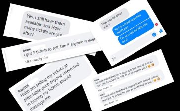 Ticket Scammers