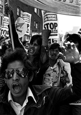 Caps Lock Music Rock Against Racism NF Protest. Source: Facebook